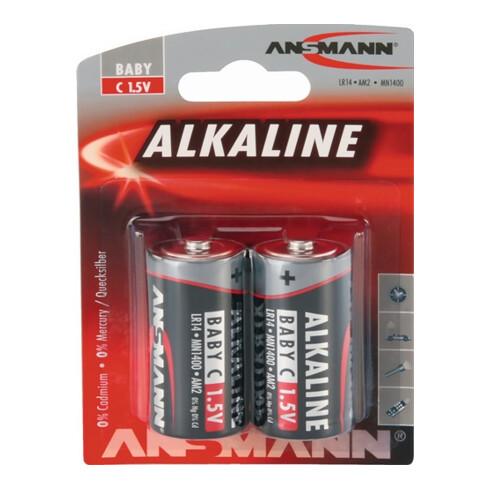 Batterie 1,5 V C-AM2-Baby 7000 mAh LR14 4914 2 St./Bl.ANSMANN