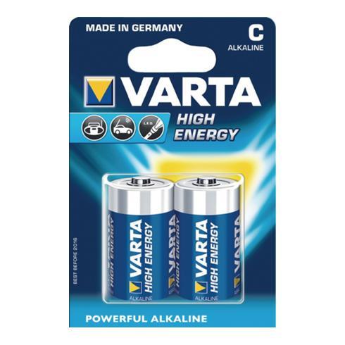 Batterie High Energy 1,5V Babyzelle 7800mAh V-ALK04914 VARTA Blister
