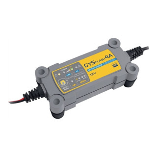 Batterieladegerät GYSFLASH 4A 12V 1,2-70Ah (1,2-130Ah) / Ladestrom 0,8-3,8A / ma