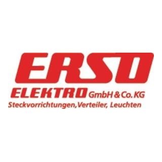 Bau-/Industriestecker 10-/16 A 230 V schwarz IP44 ERSO INDULUX