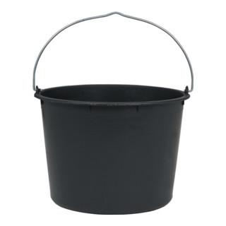 Baueimer 20l schwarz