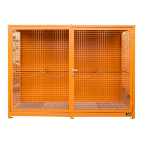 Bauer Südlohn Gasflaschen-Container GFC-1 (Gitterrostboden)
