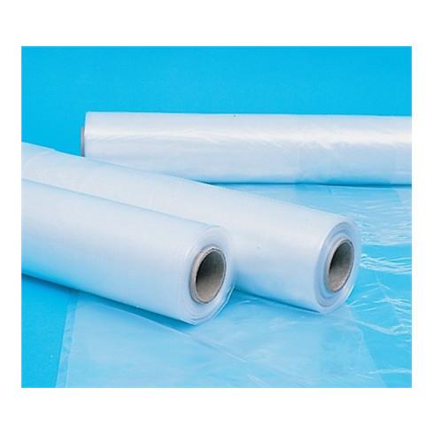 Baufolie 120 µm L.50000mm B.4000mm Polyethylen,transp.