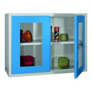 Bedrunka+Hirth Wandhängeschrank mit 2 Vollblech Türen, mit glatter Rückwand