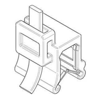 Befestigungsbinder m. Edgeclip PA66HS schwarz 3,6 x 150 S-A S