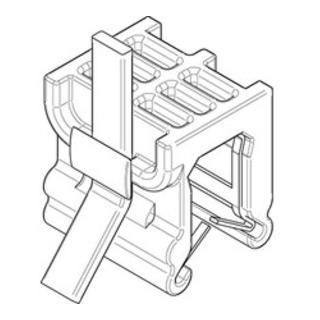 Befestigungsbinder m. Edgeclip PA66HS schwarz 4,6 x 200 S-Q S