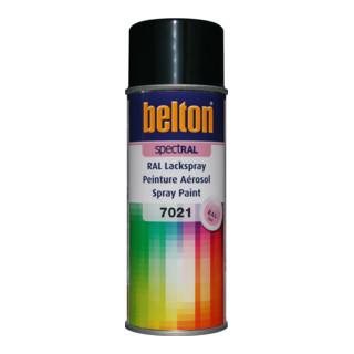 Belton Lackspray SpectRAL RAL 7021 schwarzgrau glanz