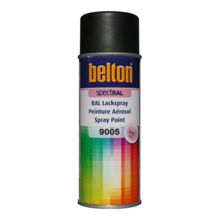 Belton Lackspray SpectRAL RAL 9005 schwarz matt
