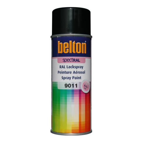 Belton Lackspray SpectRAL RAL 9011 graphitschwarz glanz