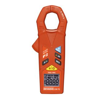 Benning Stromzangenmultimeter 10mA-400A AC/DC TRMS Batterien/Messl./Tasche CM P2