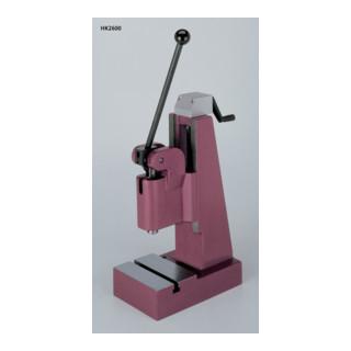 Berg & Schmid Kniehebel-Handpresse HK 2600/Hub 60 mm