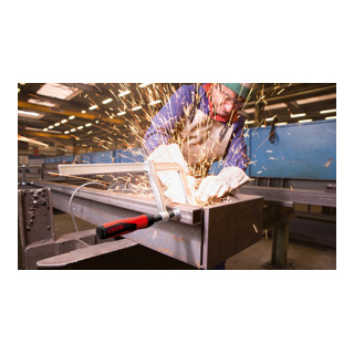 Bessey Ganzstahl-Schraubzwinge GZ mit 2-Komponenten-Kunststoffgriff