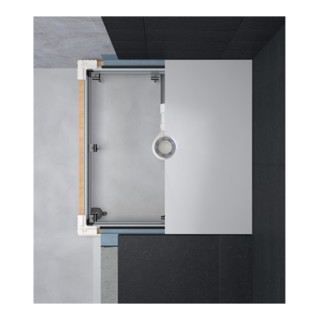 Bette Einbausystem UNIVERSAL bodengleich 80x80 cm