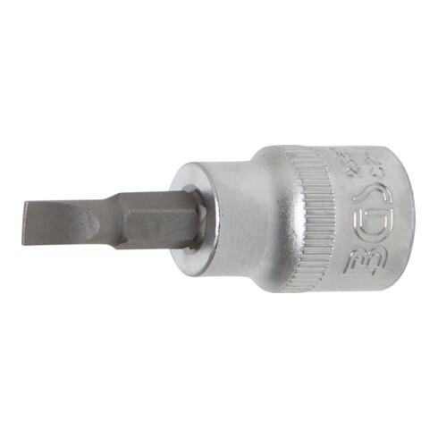 """BGS Bit-Einsatz Antrieb Innenvierkant 10 mm (3/8"""") Schlitz 5,5"""