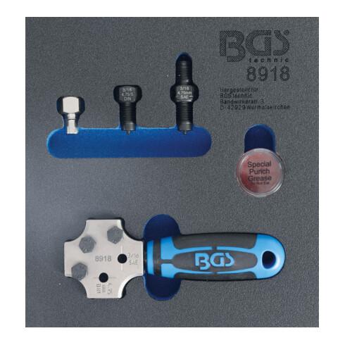 BGS Bördelgerät SAE und DIN 4,75 mm (3/16 Zoll)