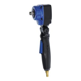 BGS Druckluft-Schlagschrauber abgewinkelt mit dreh- und neigbarem Kopf 12,5 mm (1/2 Zoll) 542 Nm 70208