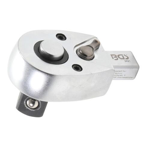 """BGS Einsteck-Umschaltknarre 12,5 mm (1/2"""") Aufnahme 9 x 12 mm"""