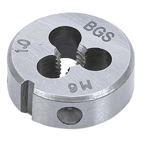 BGS Gewindeschneideisen M6 x 1,0 x 25 mm