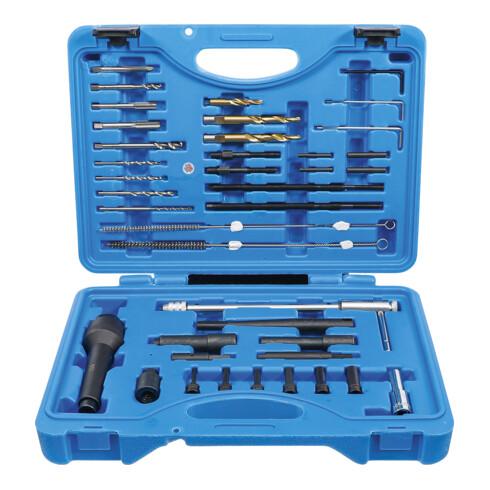 BGS Glühkerzen-Werkzeug und Gewinde-Reparatur-Satz M8, M10 41 teilig