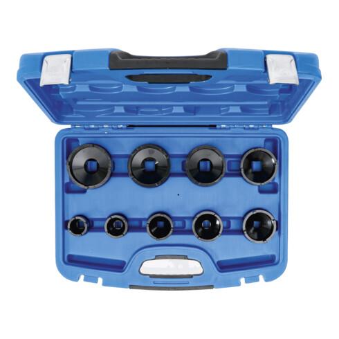 BGS Nutmutternschlüssel-Satz Zapfen außen liegend KM4 - KM12 9 teilig