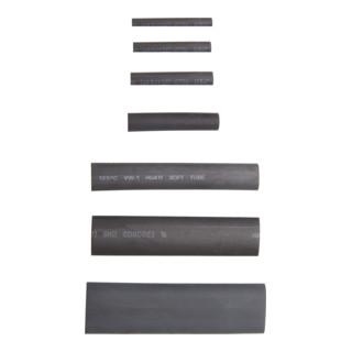 BGS Schrumpfschlauch-Sortiment schwarz 127-tlg.