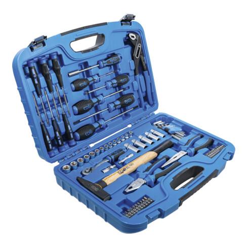 BGS Steckschlüssel-Werkzeugkoffer 67 teilig