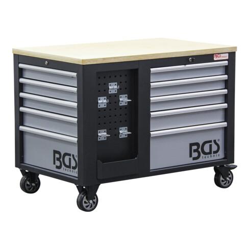 BGS Werkstattwagen 2 x 5 Schubladen 1 Schrank leer