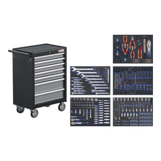 BGS Werkstattwagen 7 Schubladen mit 243 Werkzeugen