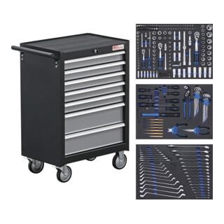 BGS Werkstattwagen 7 Schubladen mit 263 Werkzeugen