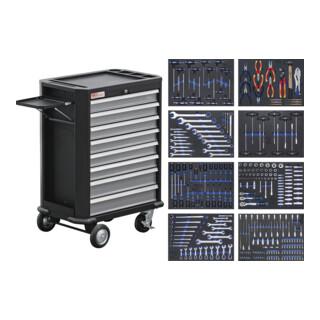 BGS Werkstattwagen 8 Schubladen mit 296 Werkzeugen