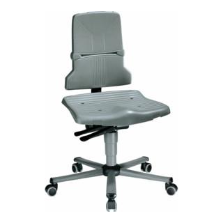 bimos Arbeitsdrehstuhl Sintec Sitz und Rückenlehne aus Kunststoff mit Rollen