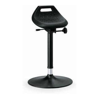 bimos Industriestehhilfe PU-Sitz Tellerfuß Sitzhöhe 650-850 mm