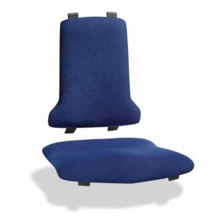 bimos Polstergarnitur Stoff Duotec blau