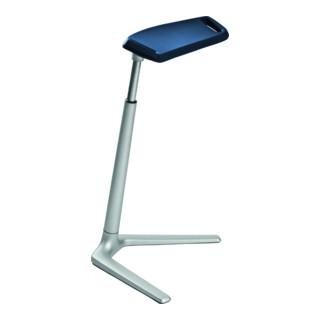 bimos Stehhilfe Fin PU-Schaum blau Sitzhöhe 620-850 mm