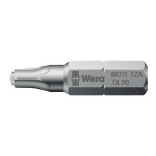 Wera 867/1 ZA TORX® Bits mit Zapfen, TX 10, Länge 25 mm