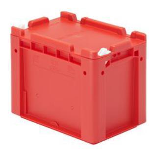 Bito Eurostapelbehälter XL mit einteiligem Klappdeckel und Schnappverschluss