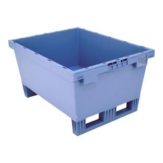 Bito Mehrwegbehälter MB mit Doppelboden und montierten Kufen