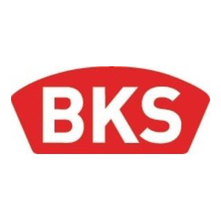 BKS Feuerschutztürschloss B-1206 24/65/72/9mm DIN R 24mm rd VA