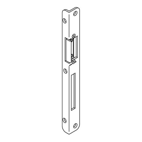 BKS Winkelschließbl.Secury STA verz.B.25xL.250mm rd.Schenkelbreite 16.5mm DIN L