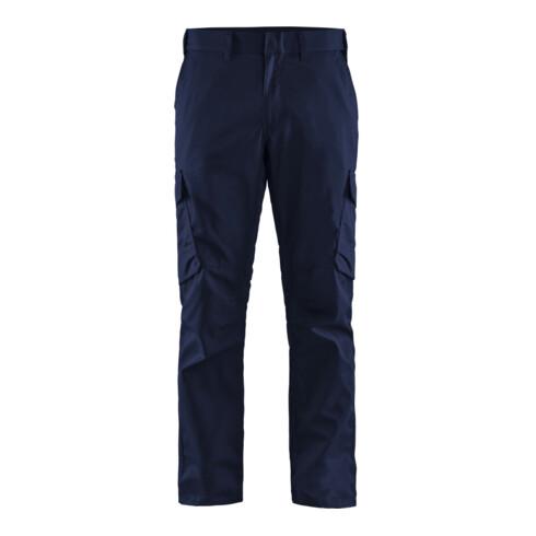 Blakläder Bundhose Industrie Stretch, marineblau / kornblau, Konfektionsgröße DE: 110
