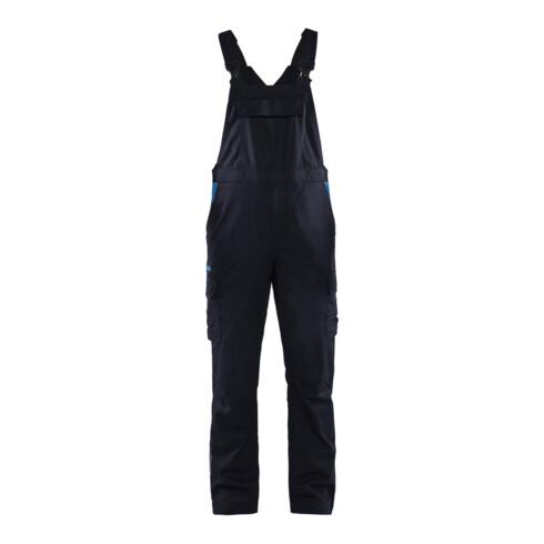 Blakläder Latzhose Industrie Stretch, marineblau / kornblau, Konfektionsgröße DE: 50