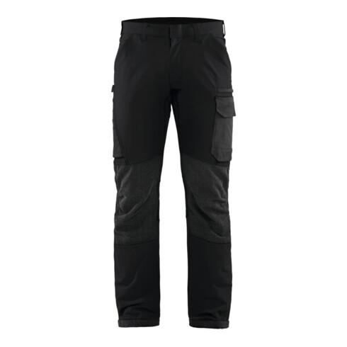 Blakläder Service Bundhose, schwarz / dunkelgrau, Konfektionsgröße DE: 25