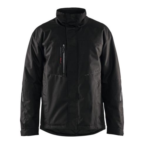 Blakläder Winterjacke, schwarz / dunkelgrau, Unisex-Größe: M