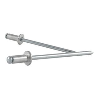 Blindniet ALFO® Nietschaft dxl 5,0x8,0mm Alu/Stahl 100 St. VVG