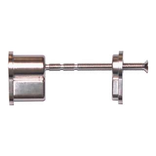 Blindzylinder-Set Türdicken 35-110mm Alu. Druckg. kürzbar