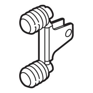 Blum LEGRABOX Frontbefestigung, Höhe M, EXPANDO, symmetrisch, verzinkt