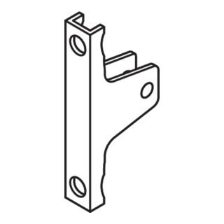 Blum LEGRABOX Frontbefestigung, Höhe M, Schrauben, symmetrisch, verzinkt