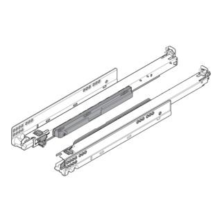Blum MOVENTO mit TIP-ON, Vollauszug für Holzschubkasten, 40 kg, NL=350 mm, für Kupplung, links/rechts, verzinkt