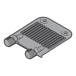 Blum TANDEMBOX/LEGRABOX Front-/Bodenstabilisierung, EXPANDO, R7037 staubgrau
