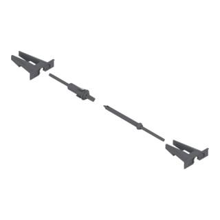 Blum TIP-ON Kupplung und Aufnahme Kunststoff / Stahl